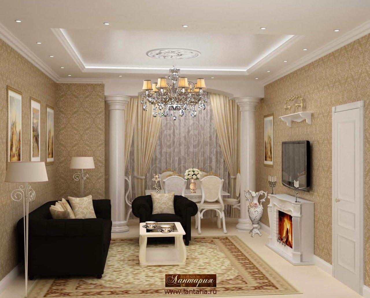 Квартира 80 кв.м дизайн