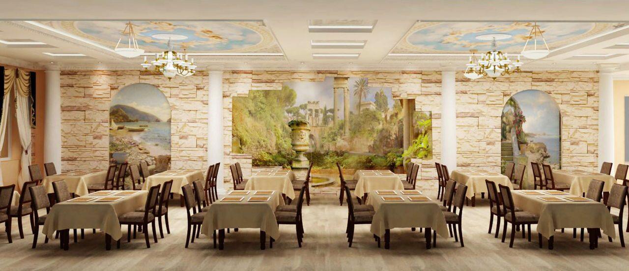 Ресторан интерьер банкетного зала