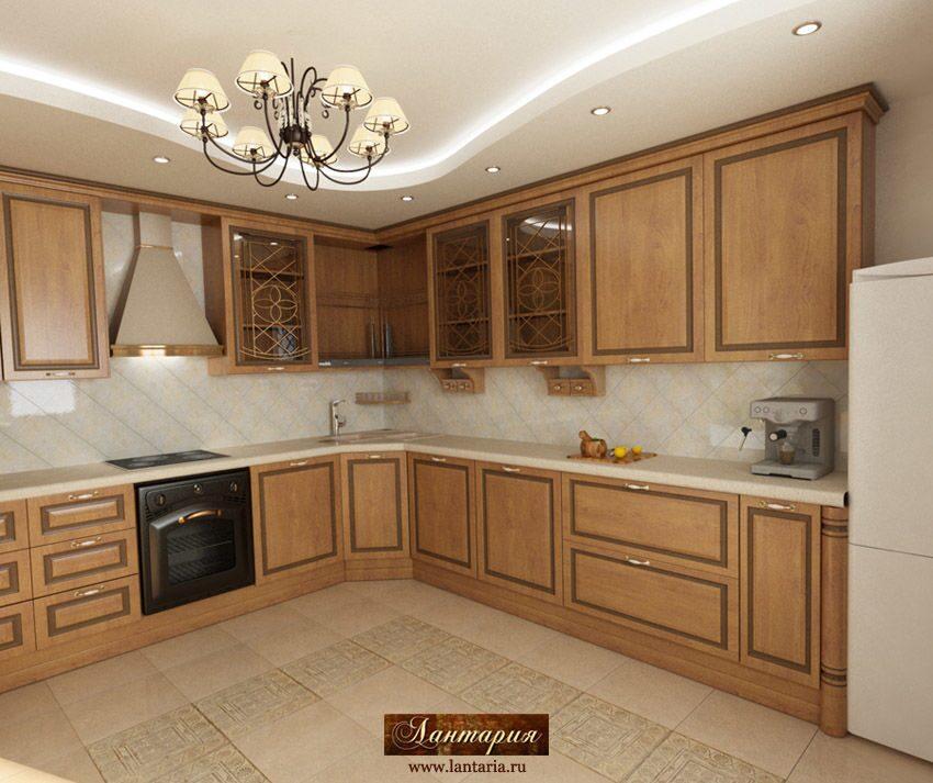 Дизайн кухни с раздвижными дверями