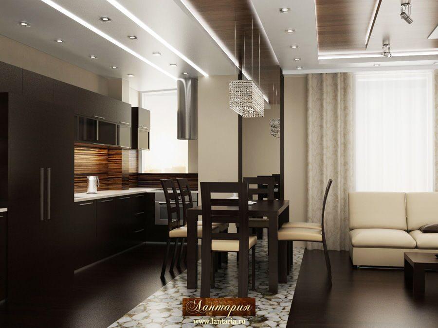 Дизайн проект квартиры 100 кв м