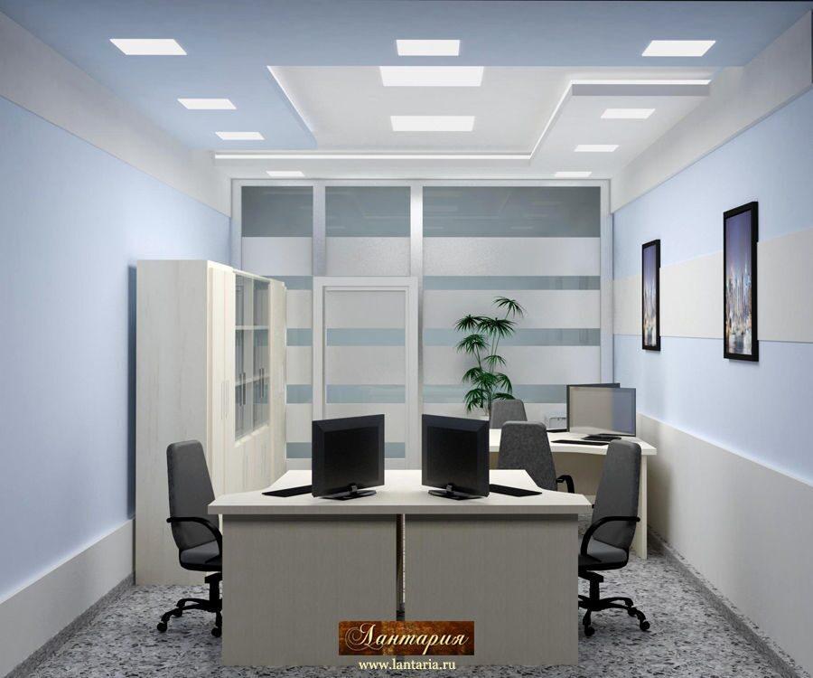 Кабинета в офисе дизайн